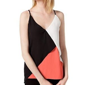 NWT Bar III Colorblocked Camisole Top XXL
